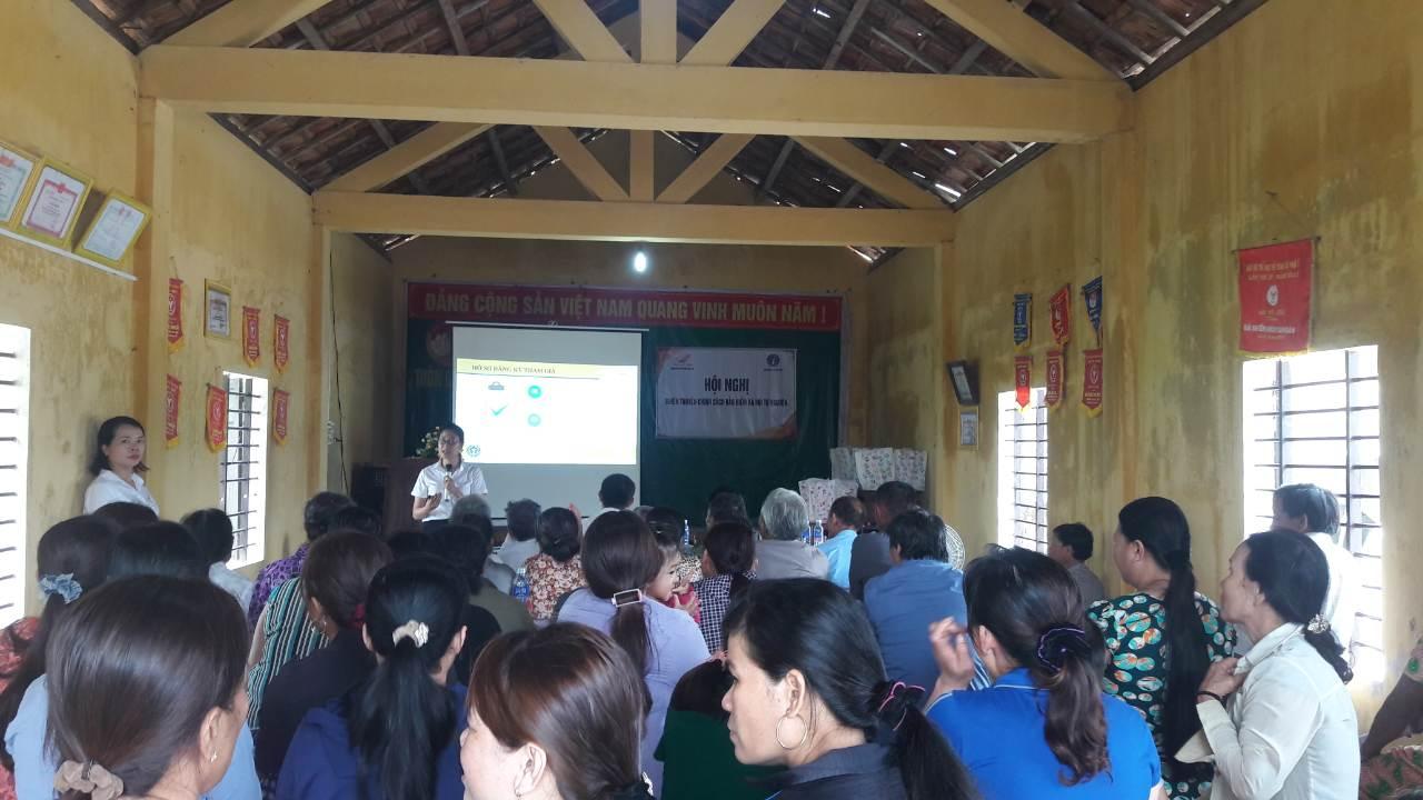 Hội nghị tuyên tuyên truyền người tham gia BHXH tự nguyện tại huyện Phú Vang