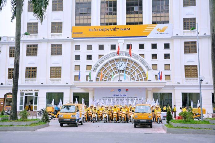 Lễ ra quân tuyên truyền chính sách Bảo hiểm xã hội tự nguyện của Bưu điện tỉnh Thừa Thiên Huế