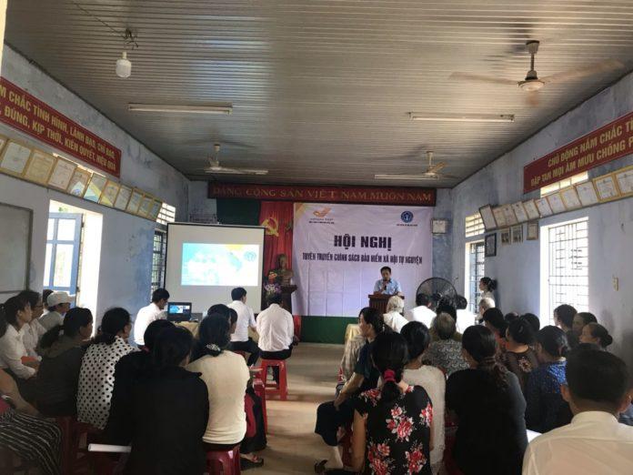 Truyền thông chính sách Bảo hiểm xã hội tự nguyện tại thị xã Hương Thủy