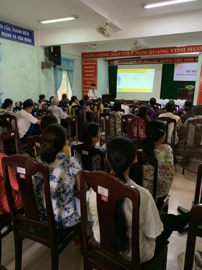 Hội nghị tuyên truyền chính sách BHXH tự nguyện tại phường Thủy Biều (Tp Huế)