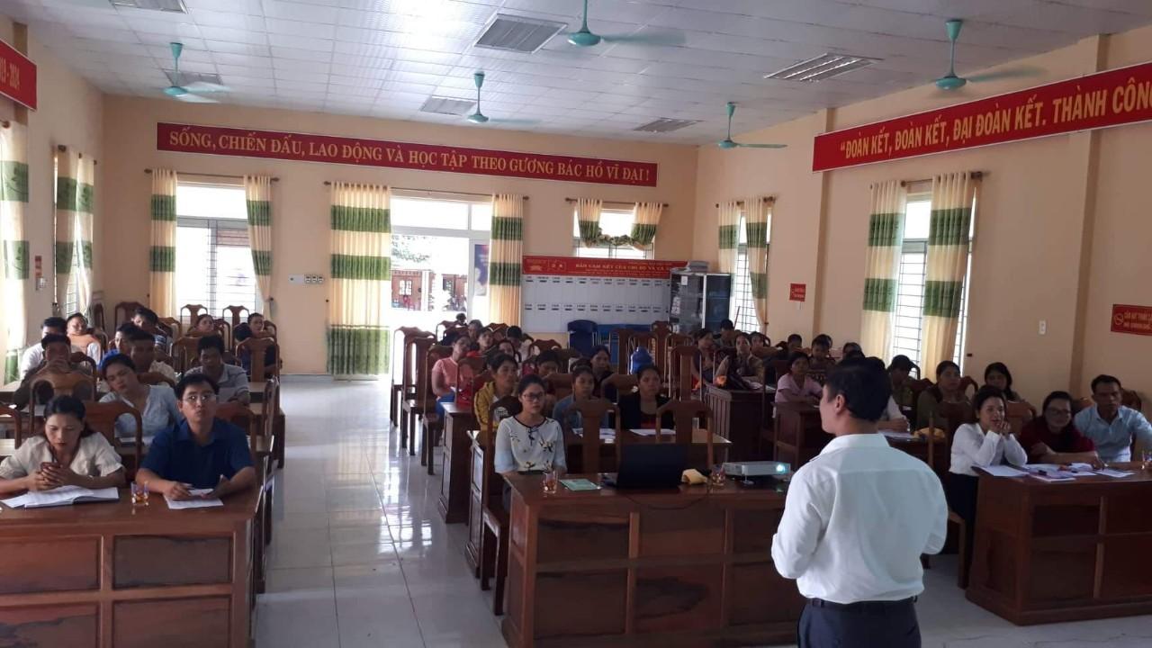 Hội nghị tuyên truyền BHXH tự nguyện tại xã Bắc Sơn